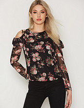 NLY Trend Floral Frill Blouse