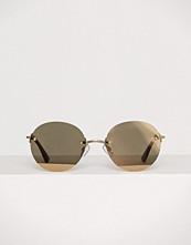 Le Specs Matte gold/Gold Mirror Bodoozle