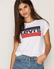Levi's White The Perfect Tee Logo