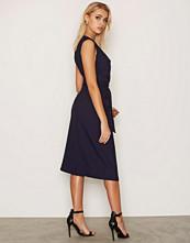 Closet V Neck Tie Front Dress
