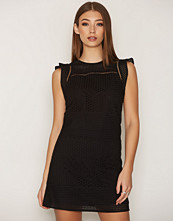 Michael Kors Black Combo Eyelet S/S Dress