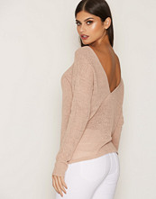 NLY Trend Lys rosa Loose Knit Sweater