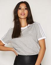 Adidas Originals Grey 3 Stripes Tee