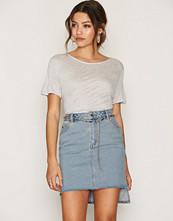 Cheap Monday Blue Warp Skirt