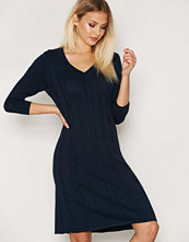 Gant Flared Cotton Cable Dress