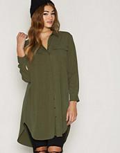 Maison Scotch Green Longer Length Shirt Dress