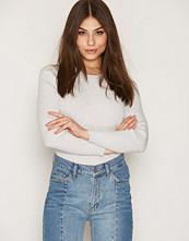 Filippa K Light Grey Rib Cotton Pullover