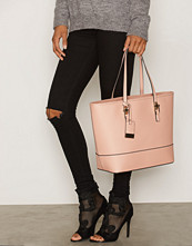 Miss Selfridge Pink Scratchy Tote Bag