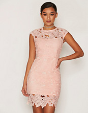 Ax Paris Short Sleeve Lace Dress
