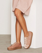 NLY Shoes Dusty Pink Velvet Sneaker