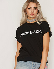New Black Logo Tee