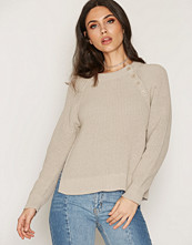 Filippa K Cotton Mix Slit Pullover