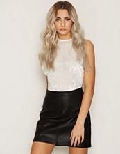 New Look Leather-Look Mini Skirt