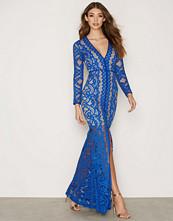 Forever Unique Sax Blue Poppy Dress