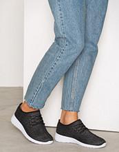 NLY Shoes Svart/grå Knitted Sneaker
