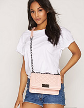NLY Accessories Patent Chain Crossover Bag