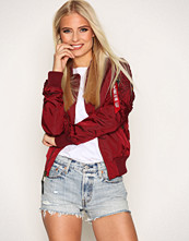 Alpha Industries Burgundy Ma- 1 Tt Wmn