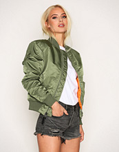 Alpha Industries Green MA-1 SF Wmn 80's Oversize
