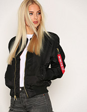 Alpha Industries Black MA-1 SF Wmn 80's Oversize