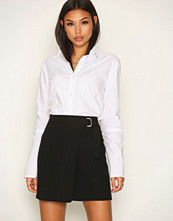 New Look Wrap Front D Ring Mini Skirt