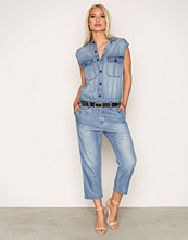 Replay Blue W1023 000 38C 98A Jumpsuit