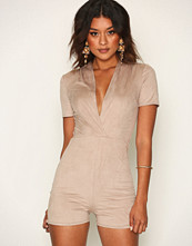NLY One Suede Look Playsuit