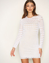 Michael Kors White Crochet Sweater Dress