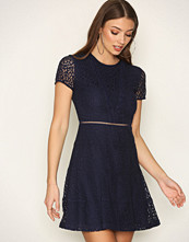 Michael Kors Navy Yala Lace Dress