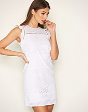 Michael Kors White Combo Eyelet S/S Dress