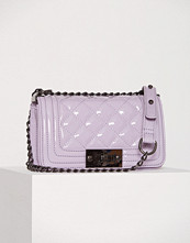 NLY Accessories Patent Mini Chain Crossover Bag