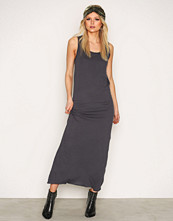 American Vintage Carbone Round Collar Long Dress