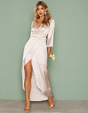 NLY Eve Maxi Wrapped Gown
