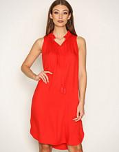 Scotch & Soda Red Sleeveless Dress