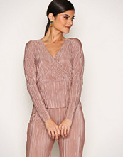 NLY One Wrap Pleats Top