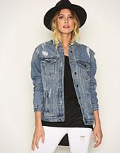 New Look Blue Oversized Denim Jacket