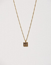 SNÖ of Sweden Remy Small Square Pendant Neck 38