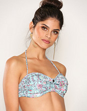 Odd Molly Light Turquoise Gone Surfing Bandeau Top
