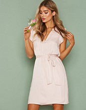 Dry Lake Light Pink Sun Belt Dress