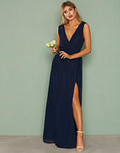 NLY Eve Deep V Slit Gown