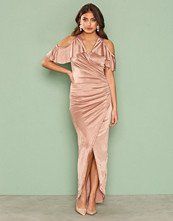 TFNC Taupe Maelle Dress