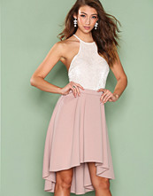 NLY One Lys lilla Pleated High Low Skirt