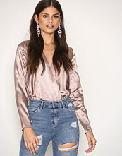 NLY One Wrap Satin Blouse
