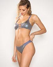 South Beach Metallic Bikini Brief