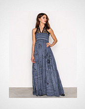 Replay Blue/Black W9375 000 71172 Dress