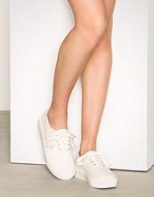 NLY Shoes Hvit Canvas Sneaker