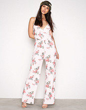 NLY Trend Flowers Strappy Print Jumpsuit