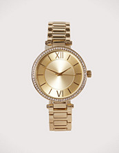 New Look Gold Sparkle T-Bar Watch