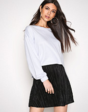 NLY Trend Svart Pleated A Line Skirt