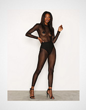 NLY One Svart Mesh Catsuit