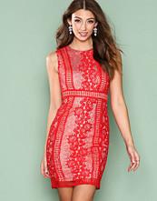 Ax Paris Red Lace Dress